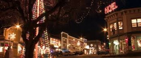 Friday Harbor Holiday Lights