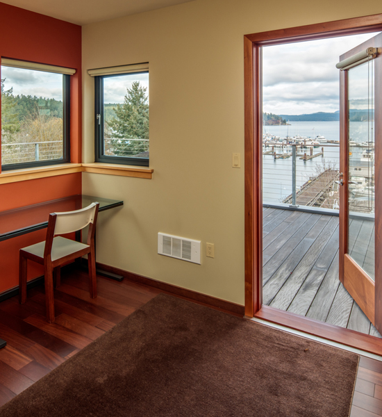 Friday Harbor Hotel The Island Inn at 123 West Penthouse 1 Quiet corner just INN case you need to get to work