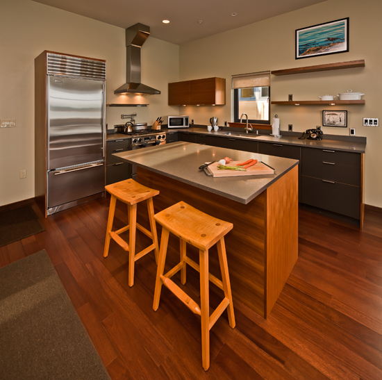 A gourmet kitchen equipped for the epicurean