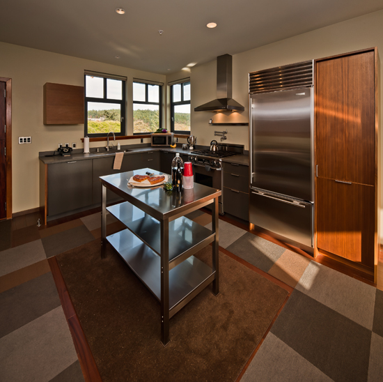 A gourmet kitchen all geared up