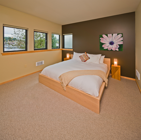 Slide inn to king size comfort and luxury linens